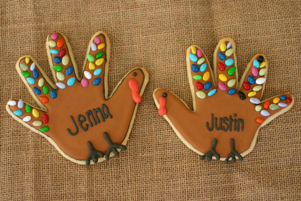 Handprint Turkey Cookies Tutorial Creative Juice