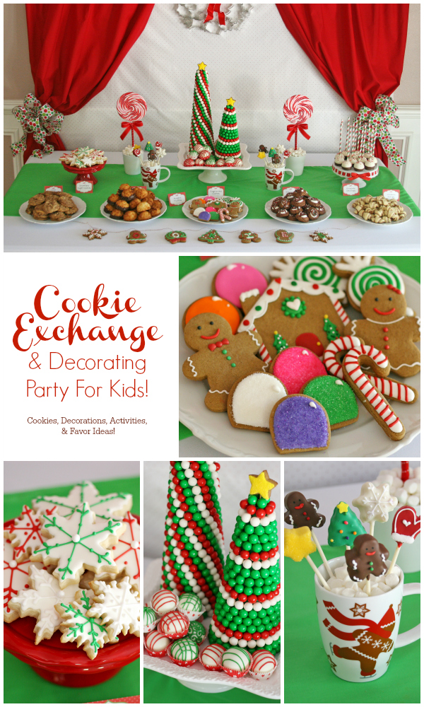 Cookie Exchange Party For Kids