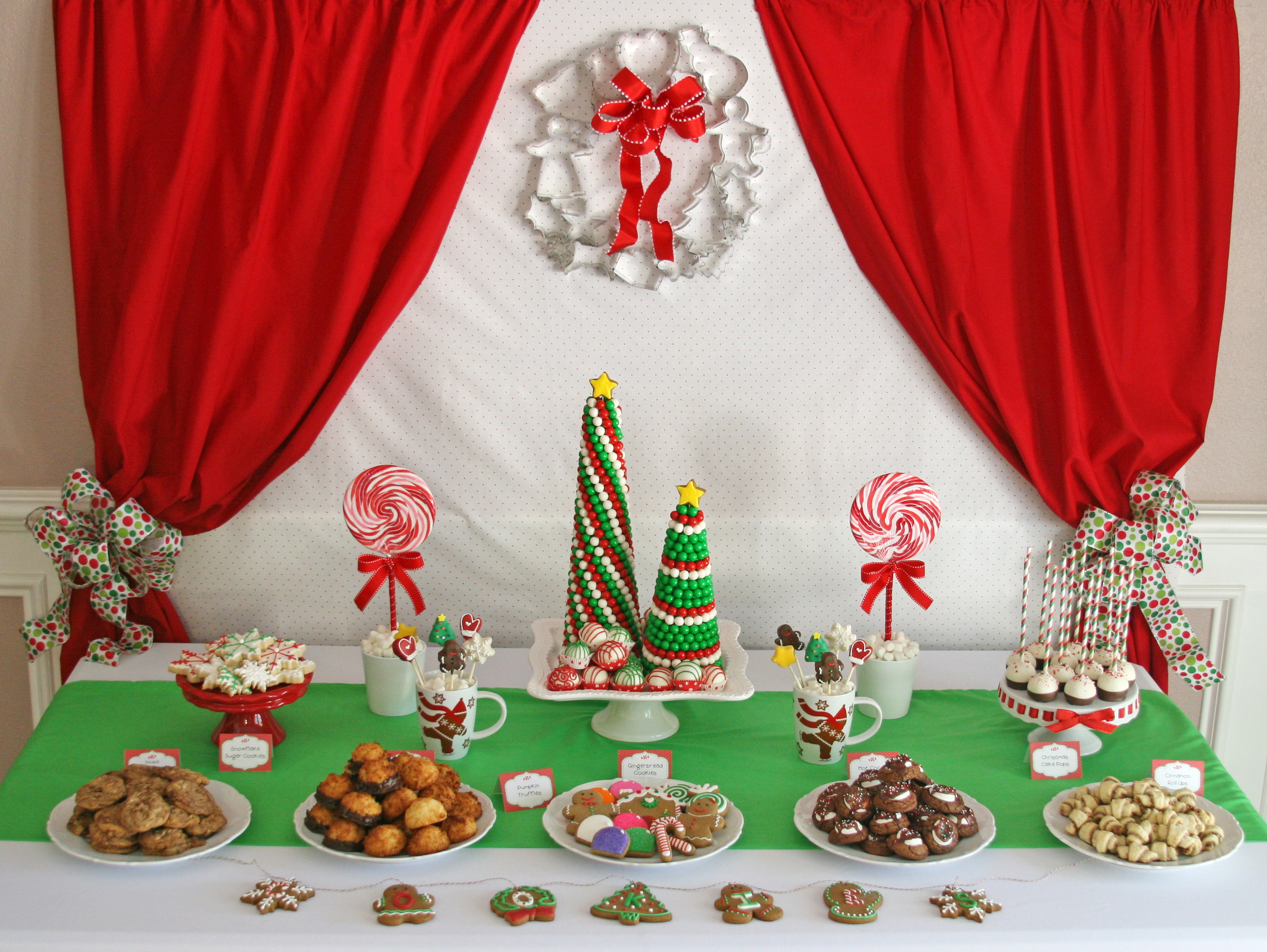 Christmas dessert table decoration ideas - Img_3852e Several Christmas