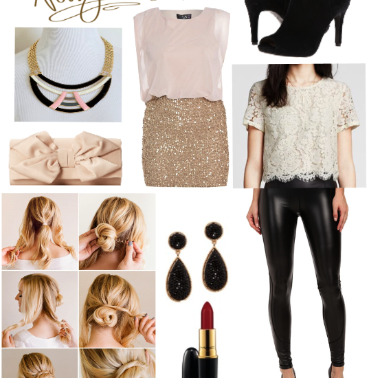 New Years Party & Outfit Inspiration with HP Sprout