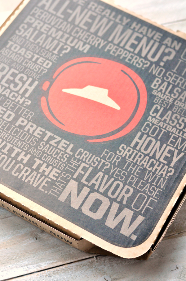 Pizza Hut Flavors of Now
