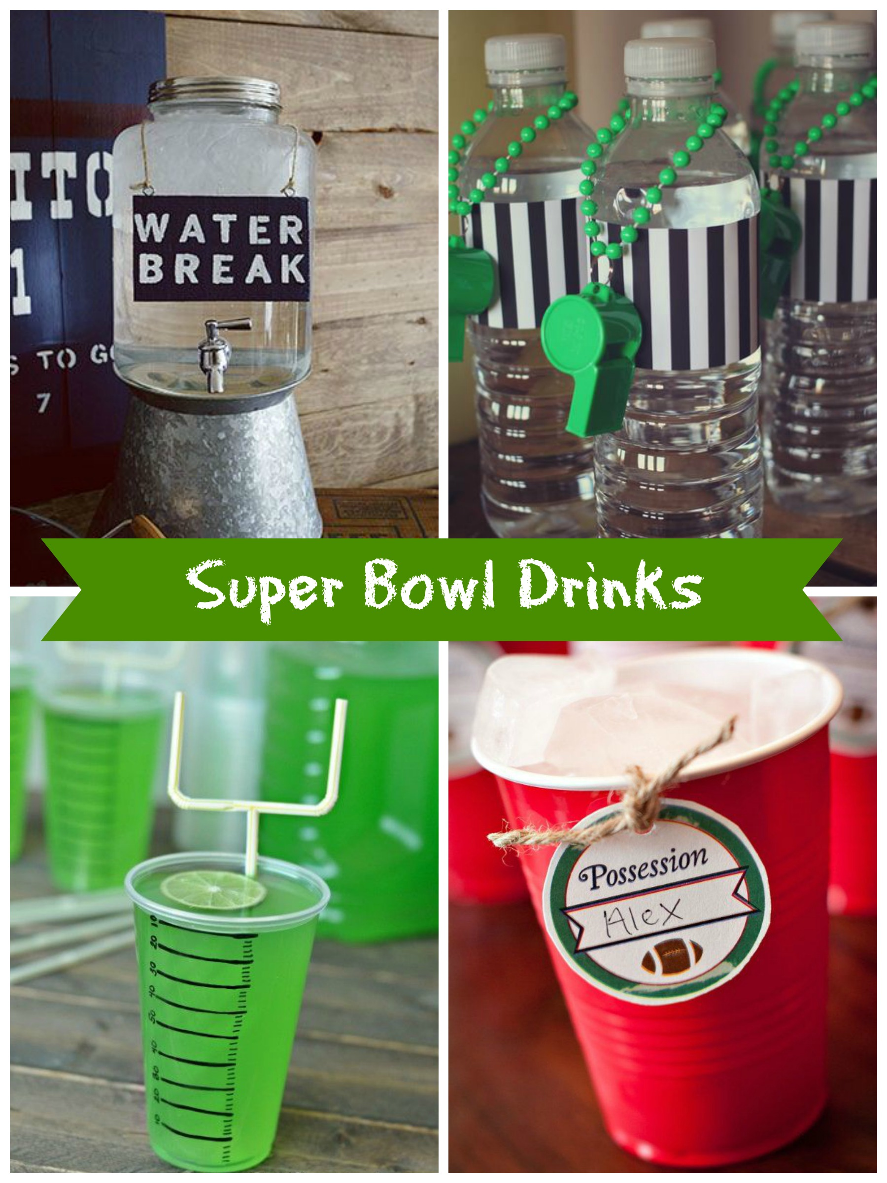 Super Bowl sunday DIY party ideas
