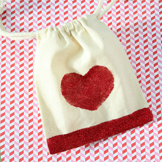 DIY Valentines Day Favor Bags