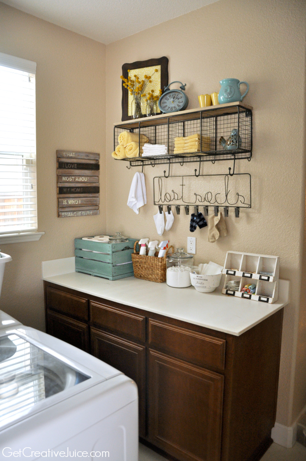 Laundry room organization and storage ideas creative juice - Laundry room design ideas ...