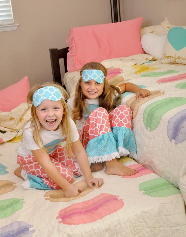 Pink, Teal, Macaron, & Heart Themed Girls Room Ideas