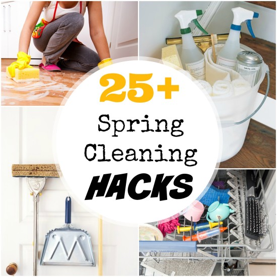 25+ Spring Cleaning Hacks for your Home