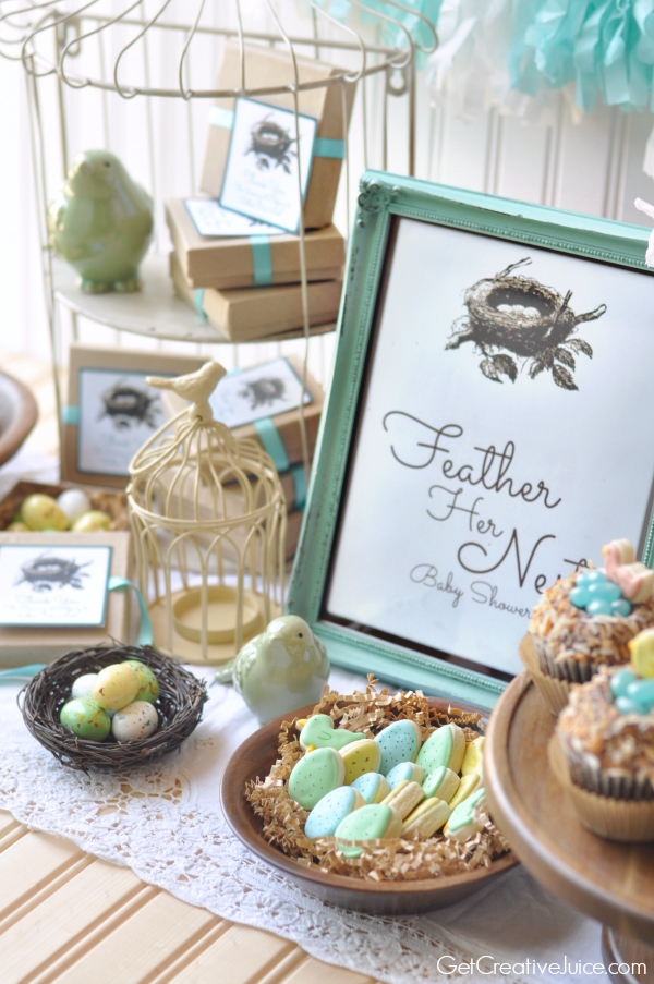 Bird Nest Baby Shower