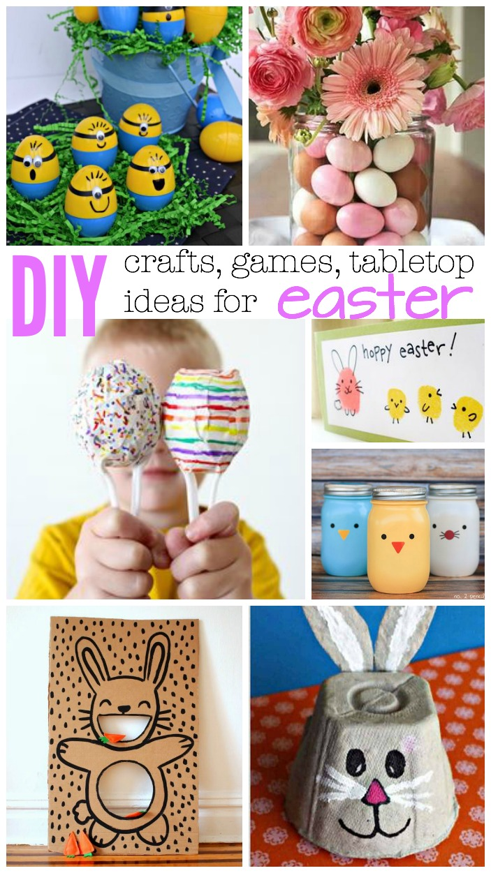 DIY Easter crafts games and more how to