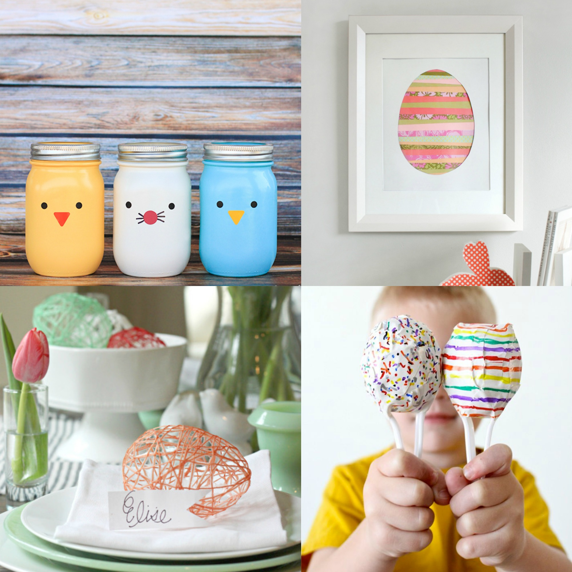 DIY Easter Crafts, Games, & More!