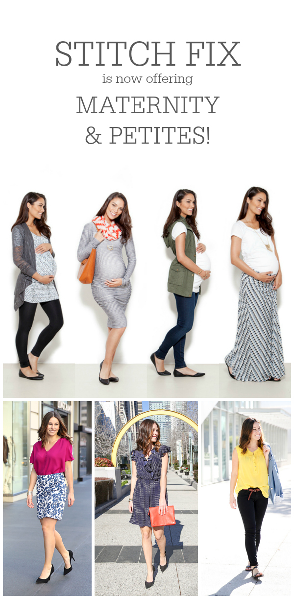 Stitch Fix now offering maternity and petites