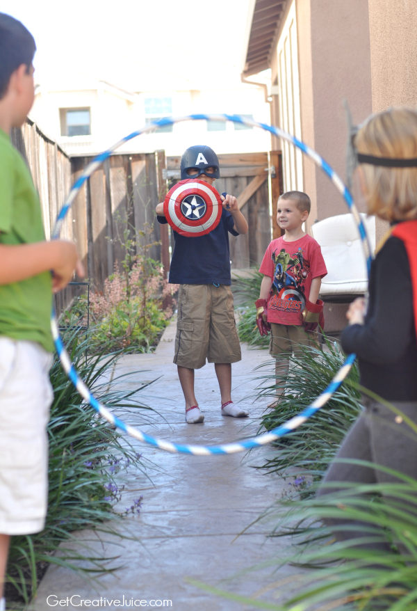 Avengers Captain America Party Game