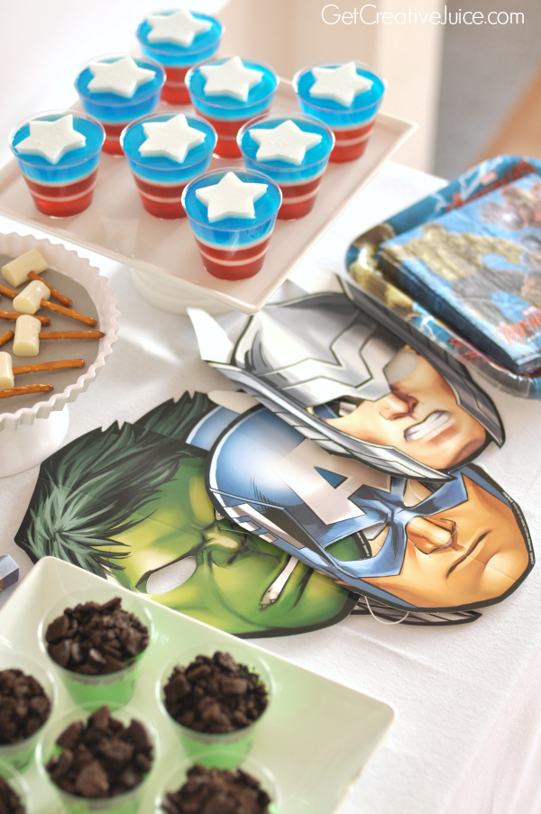 Avengers Party Ideas Creative Juice