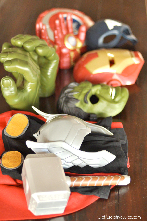 Avengers party costumes