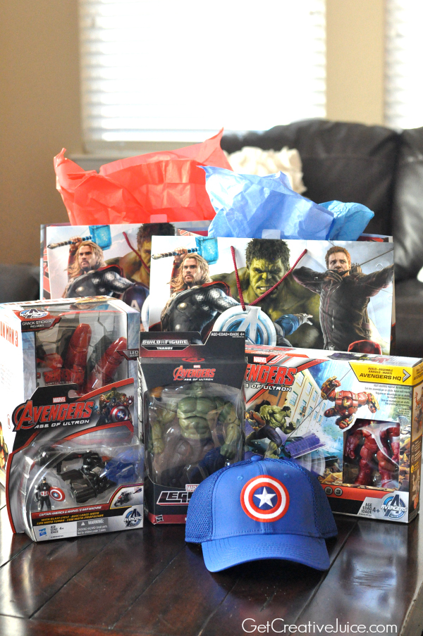 Avengers party gifts