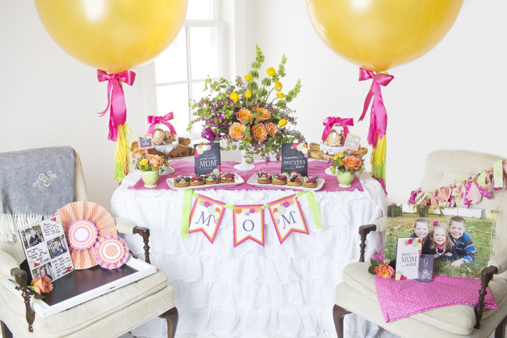 1 Mother's Day Coffee With Mom Table SetUp