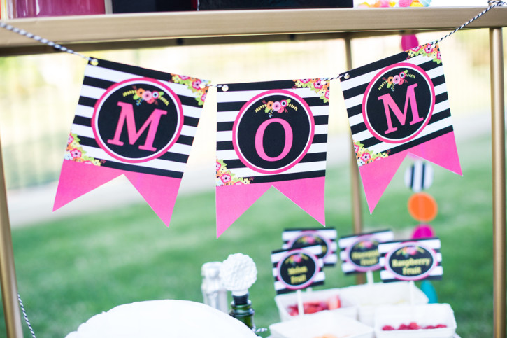 15 Mother's Day Brunch, Mimosa Bar Bottom, MOM banner