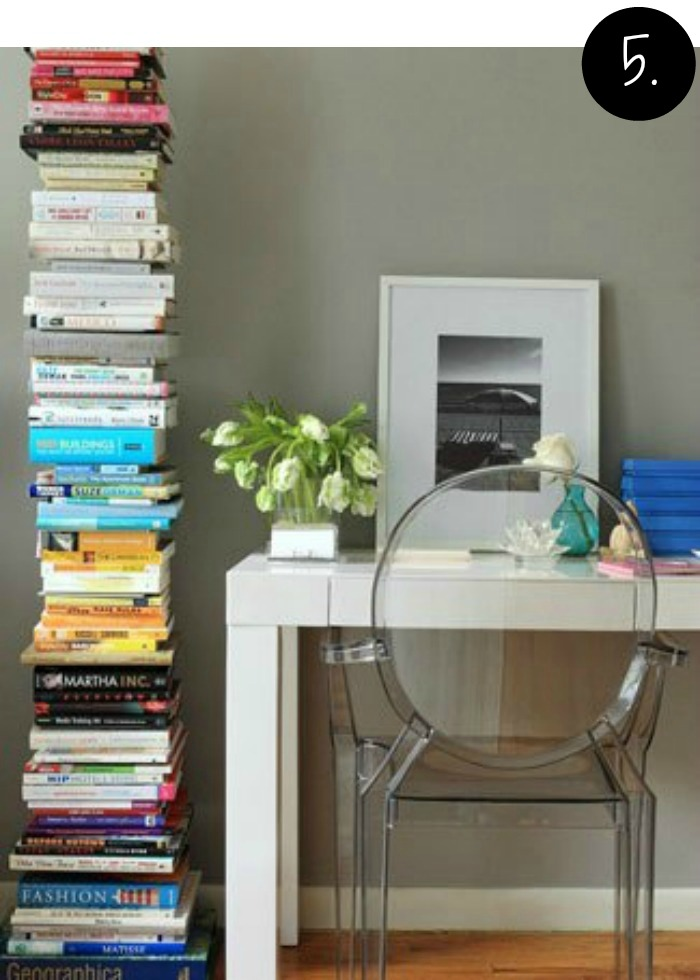 Creative Bookshelves and Storage Ideas