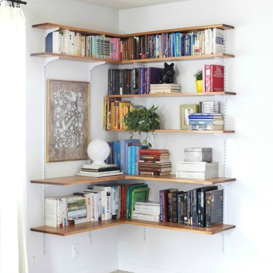 15 Creative Bookshelf Ideas
