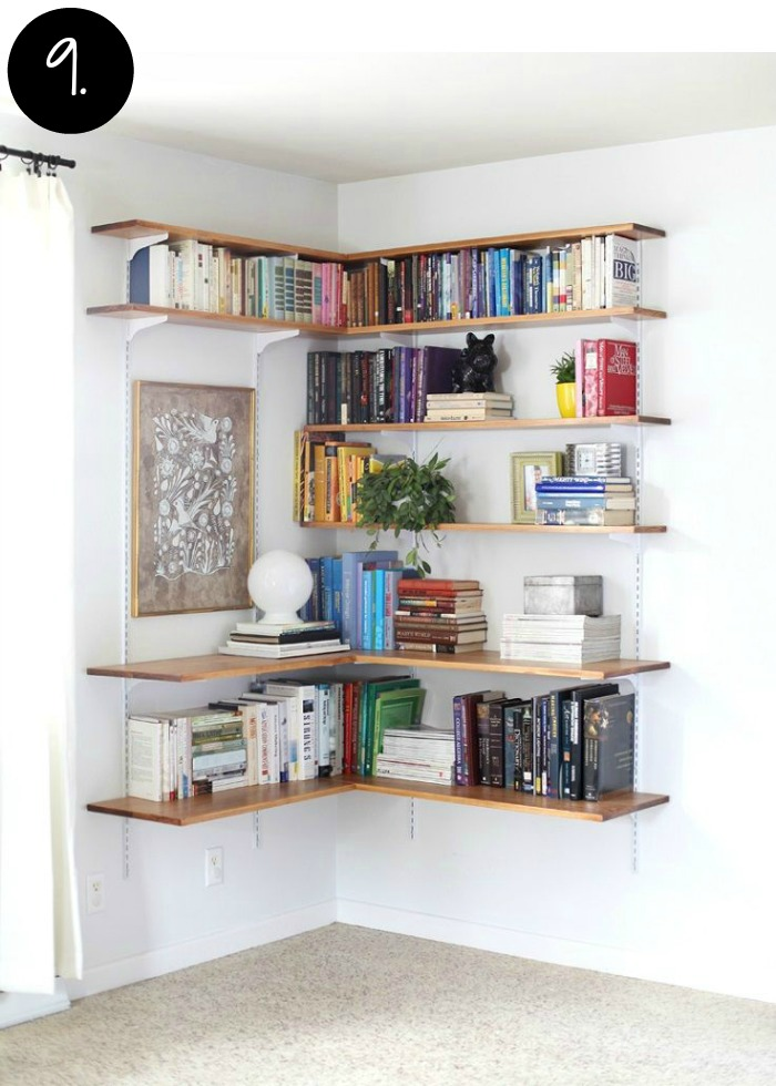 Creative Bookshelves and Storage Ideas for the Home Office