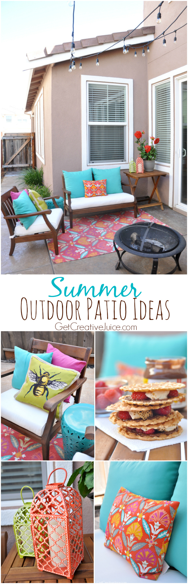 Summer Outdoor Patio Ideas