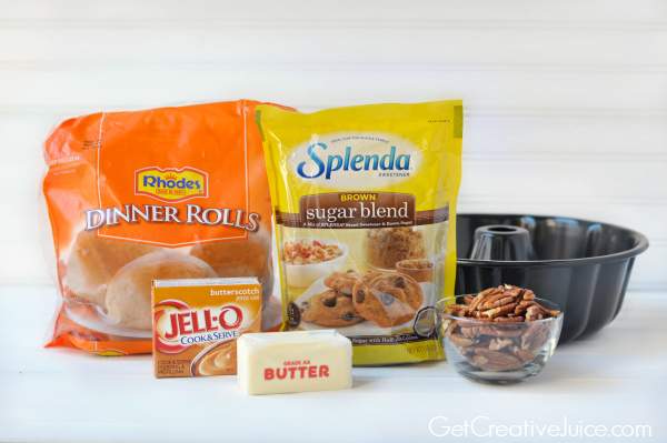 5 ingredient sticky rolls