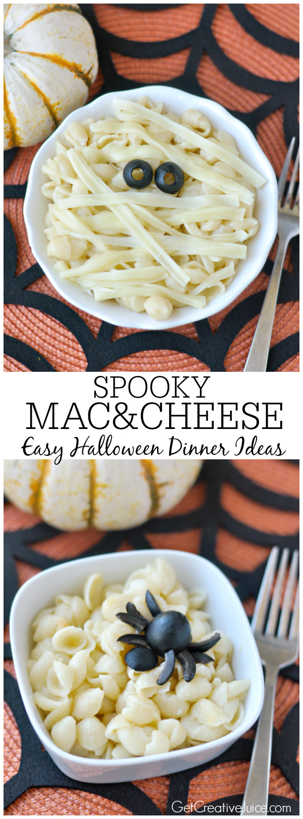 SPOOKY Mac & cheese - easy halloween dinner ideas!