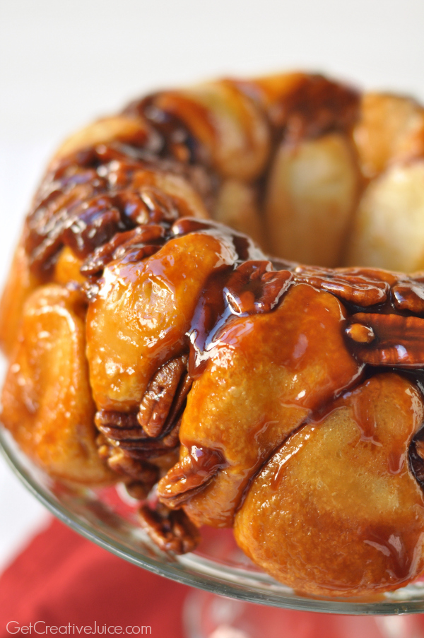 Sticky Bread Pull apart monkey bread recipe