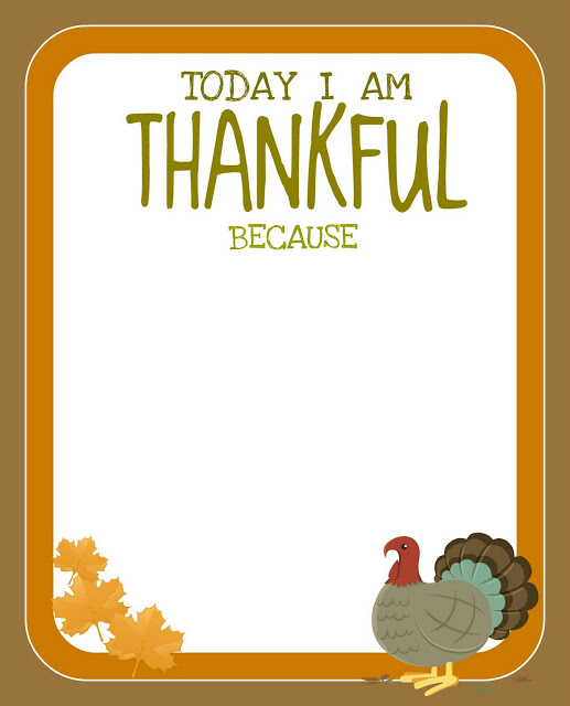 Accomplished image inside printable thanksgiving