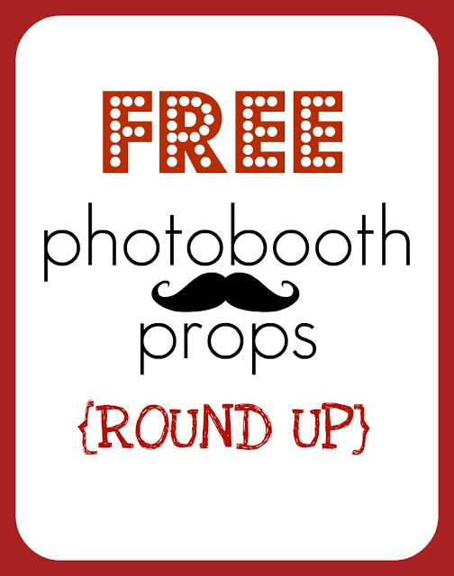 It is an image of Printable Photo Props within kids