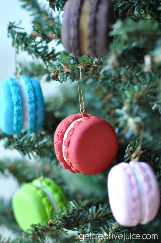 french macaron ornaments 2