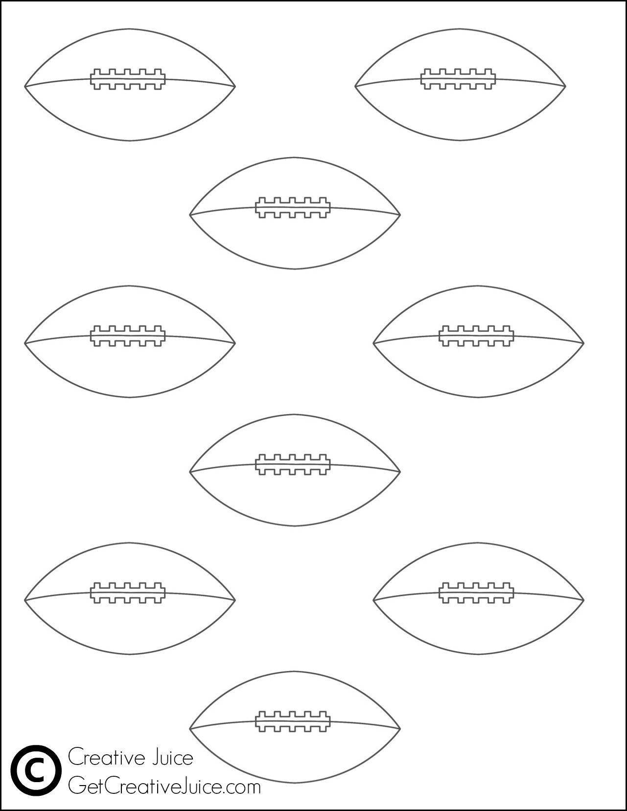 This is a graphic of Revered Macaron Printable Template
